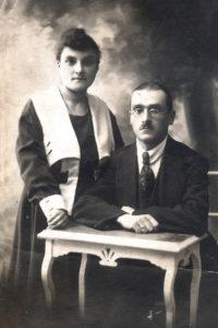 Elena Drapkina's parents (Minsk 1920)