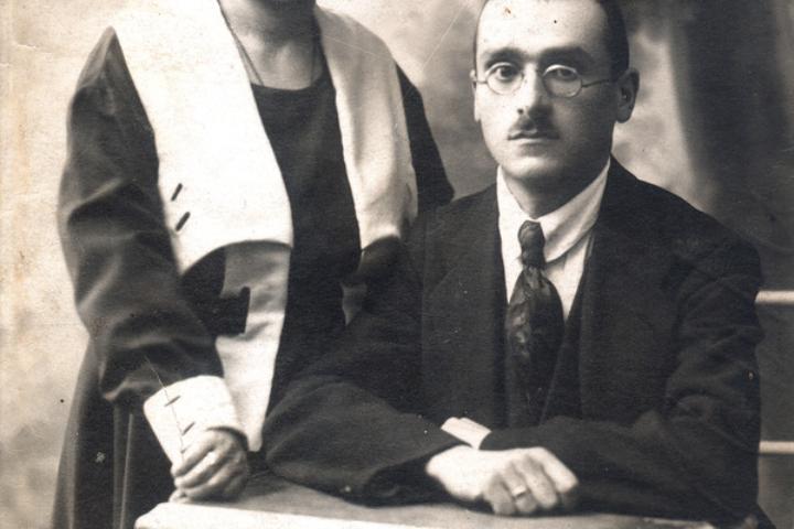 Elena Drapkina's parents