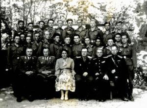 Friedrich Falevich with his schoolmates (Termez 1956)