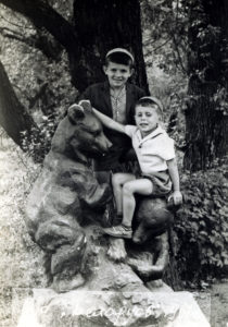 Boris and Grigoriy Falevich (near Minsk 1967)