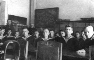 Anatoly Lifshits in the Military School (Leningrad 1939)