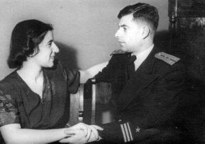 Anatoly Lifshits and his fiancée (Leningrad 1947)