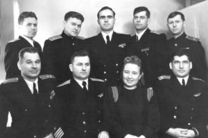 Anatoly Lifshits in the Naval Academy named after Voroshilov (Leningrad 1950)