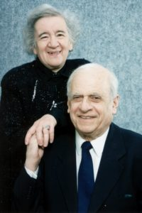 Anatoly Lifshits and his wife (St. Petersburg 2002)