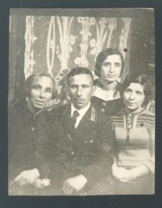 Blyuma Perlstein with her siblings (Leningrad 1935)