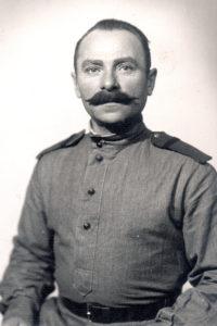 Elena Drapkina's maternal uncle (Hungarian-occupied Slovakia, 1945)