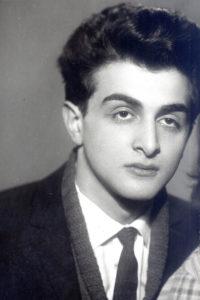 Elena Drapkina's son Alexander (Leningrad 1964)