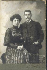 Mikhail and Anna Makhover (Kiev 1910s)