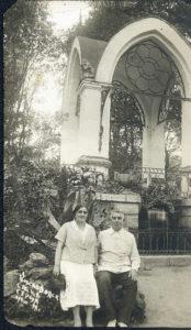 Olga and Mikhail Makhover (Kislovodsk 1938)