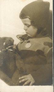 Galina Levina as a child (Leningrad 1937)