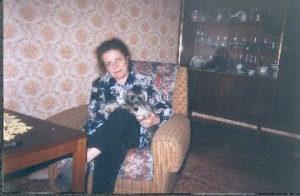 Galina Levina at home (St.Petersburg 2000s)