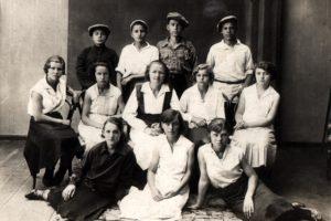 Lev Galper with his schoolmates (Volchansk 1934)