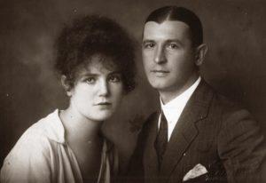 Matilda Sobolevskaya with her husband Vasiliy Sobolevskiy (Moscow 1910s)
