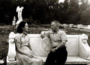Marina Sineokaya with her husband Pavel Sineokiy (Arkhangelsk 1961)
