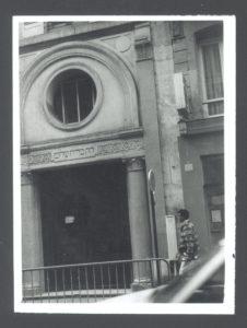 Synagogue in Paris (Paris 1930s)