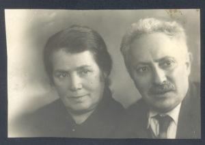 Mordukh and Golda Sasonko (Leningrad)