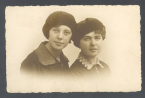 Haya Sasonko with a friend (Liege 1929)