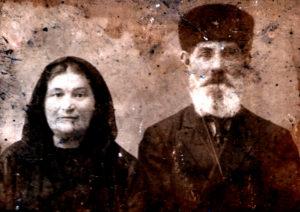 Samuel Zelbert and his wife (Berdyansk 1900)