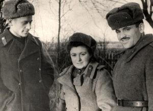 Berta Zelbert and her friends (Königsberg 1945)