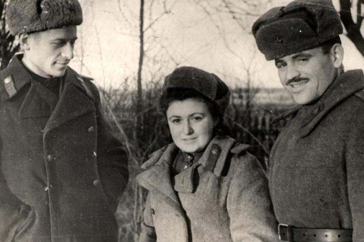 Berta Zelbert and her friends