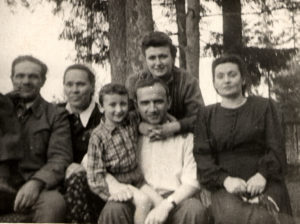 Berta Zelbert with her family (near Moscow 1951)