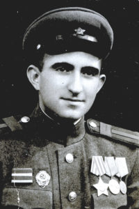 Mark Epstein (Leningrad front 1943)