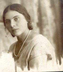 Maria Lipovskaya at the age of 19 (Leningrad 1929)