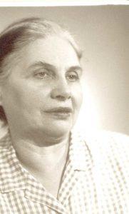 Maria Lipovskaya's photo for the board of honor (Leningrad 1960s)