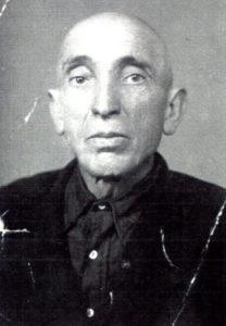 Efim Pisarenko's father E'Kusiel Pisarenko (Chernovtsy 1948)