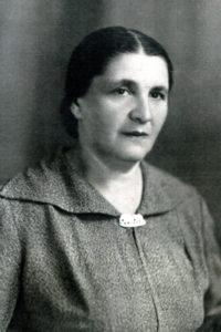 Efim Pisarenko's mother Basia Pisarenko (Chernovtsy 1948)