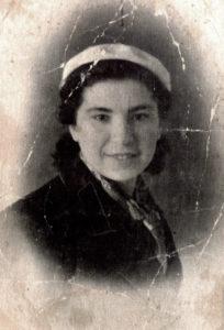 Efim Pisarenko's older sister Broha Shapiro (Gomel 1941)
